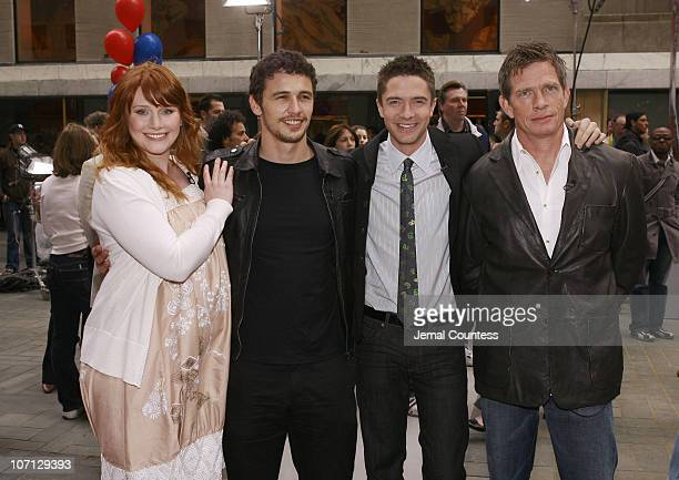 Bryce Dallas Howard James Franco Topher Grace and Thomas Haden Church