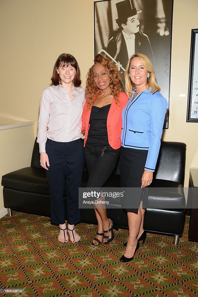 Bryce Dallas Howard, Sandra Lord and Erin Murphy attend The Hollywood Networking Breakfast presents Bryce Dallas Howard - 'A Family Legacy' Q&A at Raleigh Studios on September 14, 2013 in Los Angeles, California.