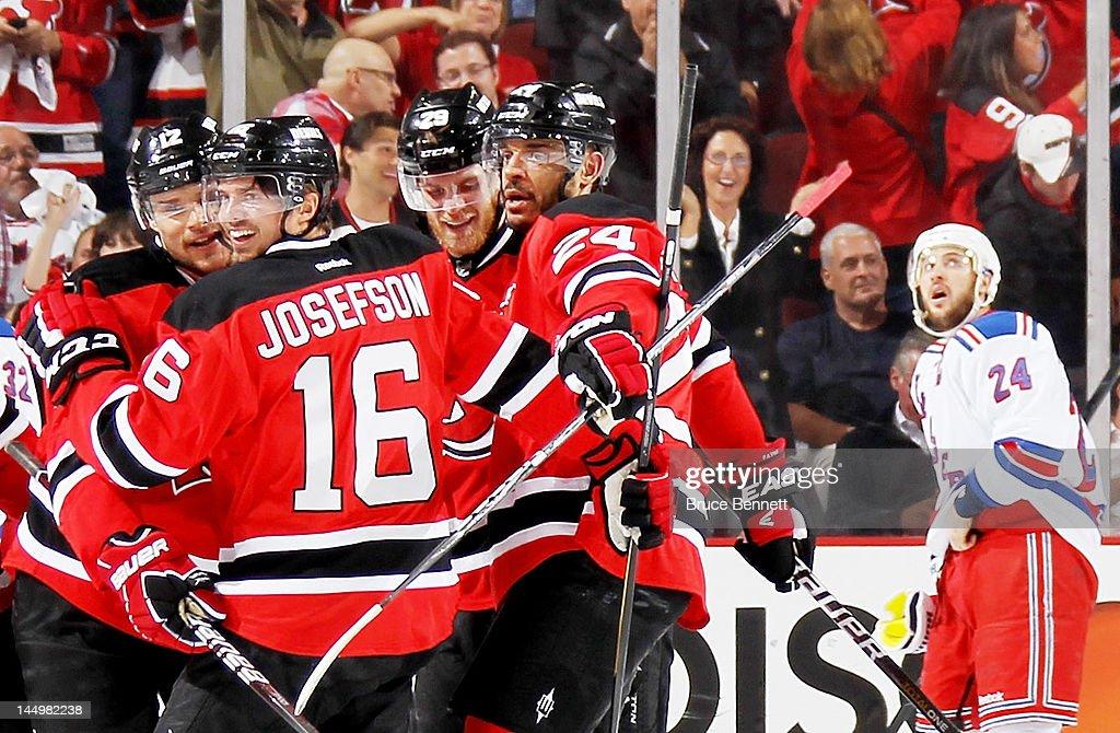 New York Rangers v New Jersey Devils - Game Four