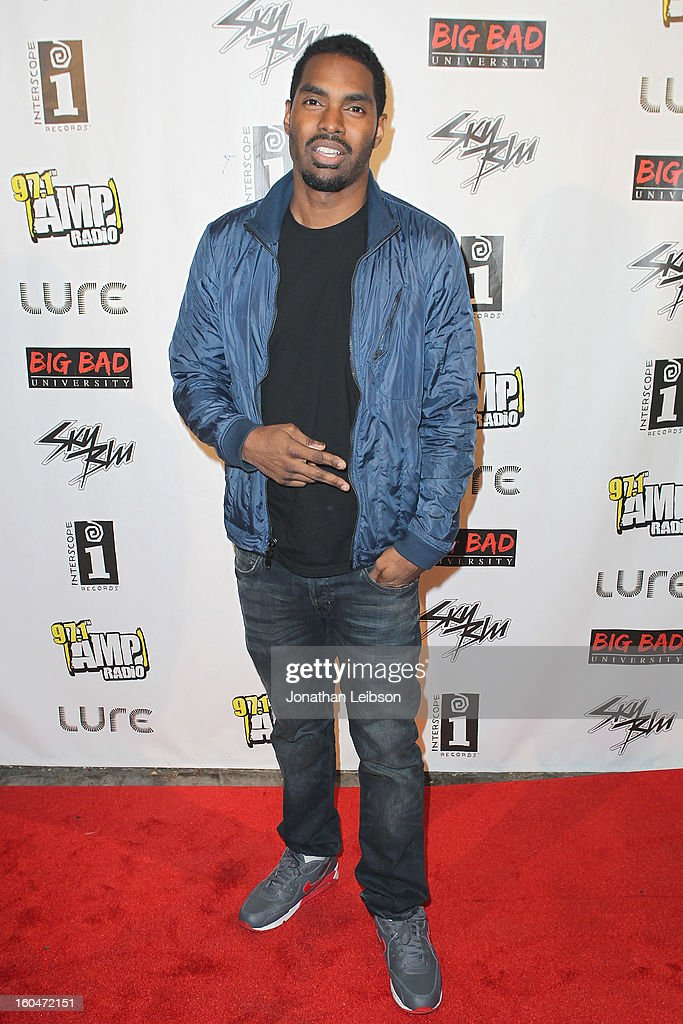 Bryce Wilson at the SkyBlu 'Pop Bottles' Single Release Party at Lure on January 31, 2013 in Hollywood, California.