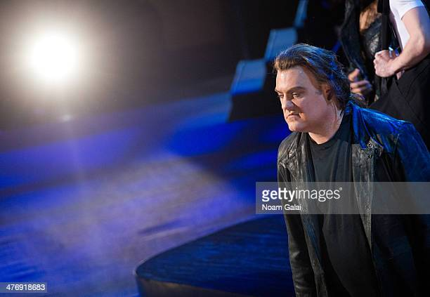 Bryn Terfel performs at the 2014 The New York Philharmonic Spring Gala featuring 'Sweeney Todd The Demon Barber of Fleet Street' at Josie Robertson...