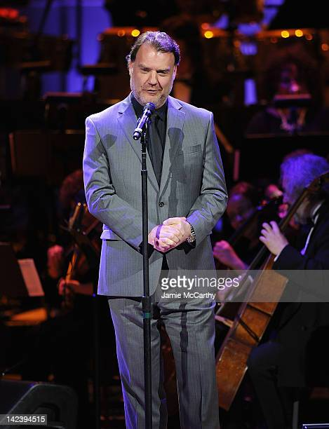 Bryn Terfel performs during the 2012 Concert for the Rainforest Fund at Carnegie Hall on April 3 2012 in New York City