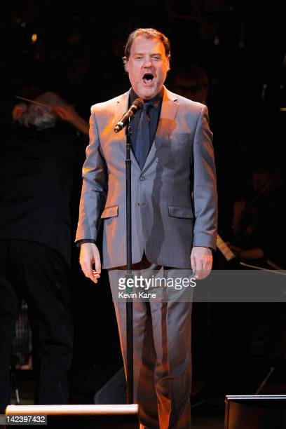 Bryn Terfel performs on stage at the Revlon concert for the Rainforest Fund at Carnegie Hall on April 3 2012 in New York City