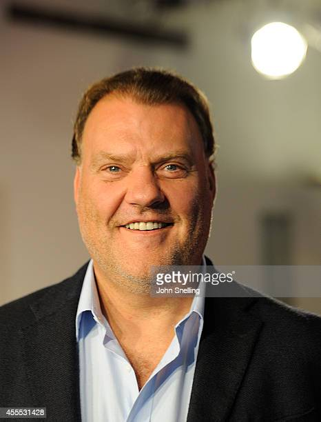 Bryn Terfel poses during a photocall for 'Sweeney Todd The Demon Barber of Fleet Street' at London Coliseum on September 16 2014 in London England