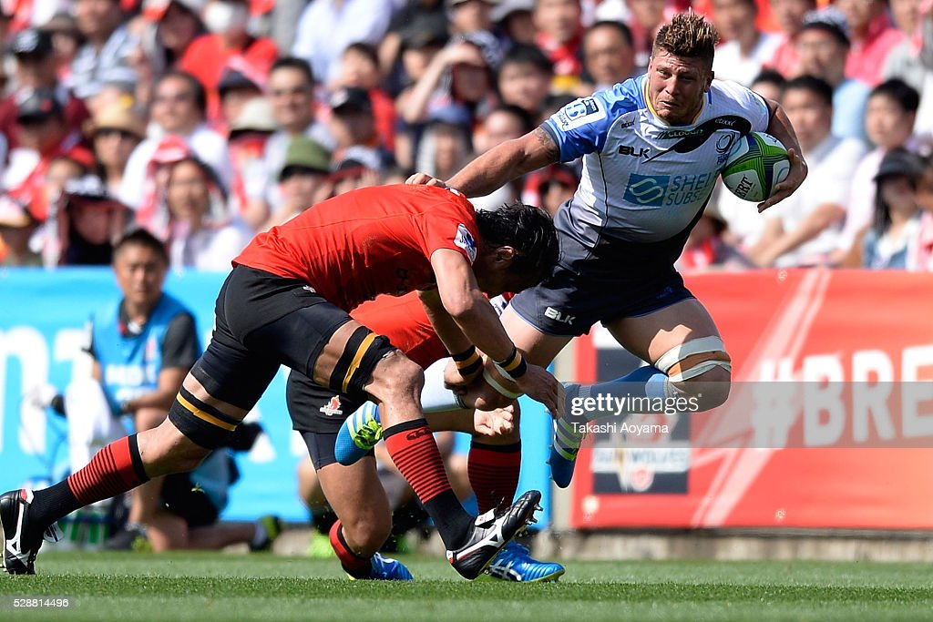 Koki Western Union : Brynard Stander of the Force in action during the round 11 Super Rugby