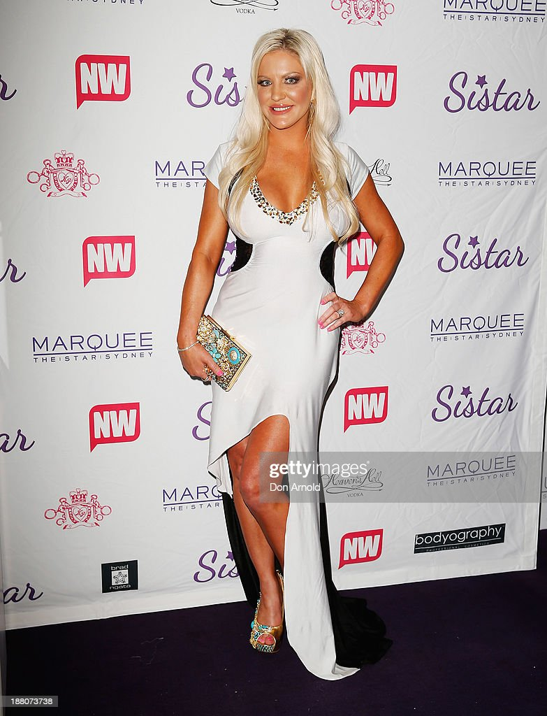 Brynne Edelstein appears at Marquee Nightclub on November 15, 2013 in Sydney, Australia.