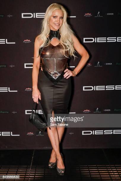 Brynne Edelsten attends the Diesel Bar Eatery launch on September 20 2017 in Melbourne Australia