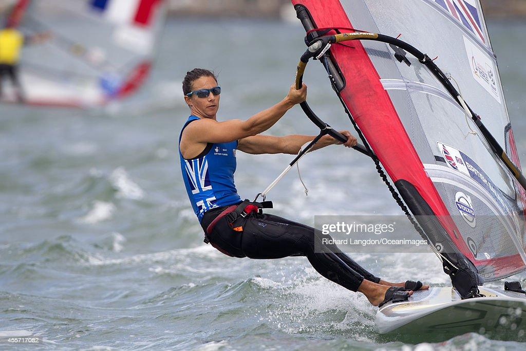 Bryony Shaw sailing