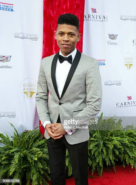 Bryshere Y Gray attends the 2016 Trumpet Awards on January 23 2016 in Atlanta Georgia