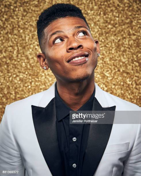 Bryshere Y Gray poses for a portrait at the NBA Awards Show on June 26 2017 at Basketball City at Pier 36 in New York City New York NOTE TO USER User...