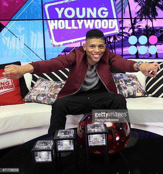 Bryshere Y Gray visits the Young Hollywood Studio on April 29 2015 in Los Angeles California
