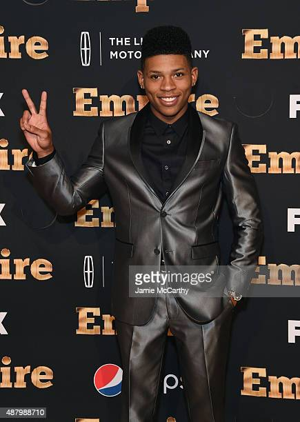 Bryshere 'Yazz' Gray attends the 'Empire' series season 2 New York Premiere at Carnegie Hall on September 12 2015 in New York City