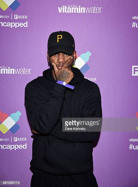 Bryson Tiller attends vitaminwater and The Fader unite to 'HYDRATE THE HUSTLE' for the fifth anniversary of #uncapped concert series on October 2...