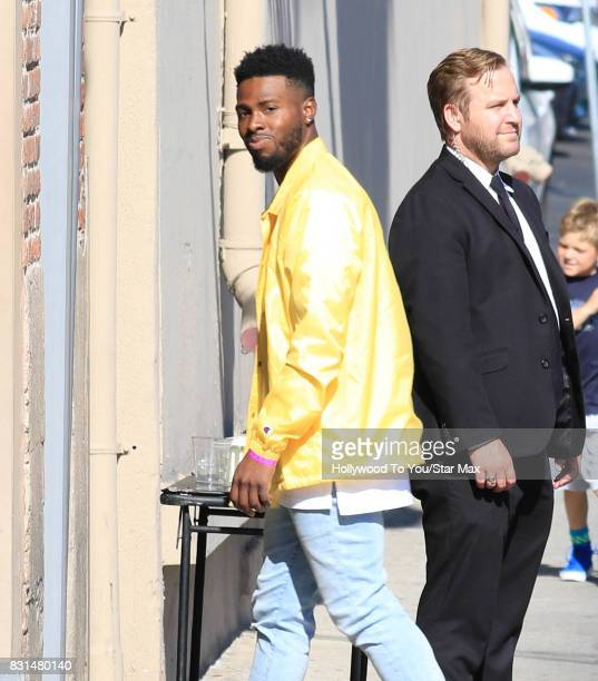 Bryson Tiller is seen on August 14 2017 in Los Angeles CA