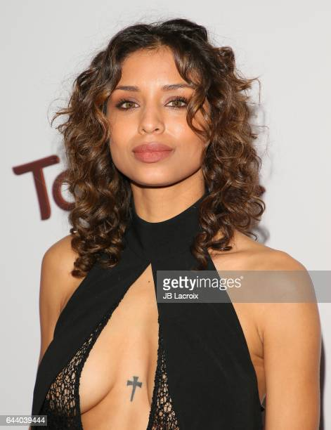 Brytni Sarpy attends the OK Magazine's Annual PreOscar Event on February 22 2017 in Los Angeles California