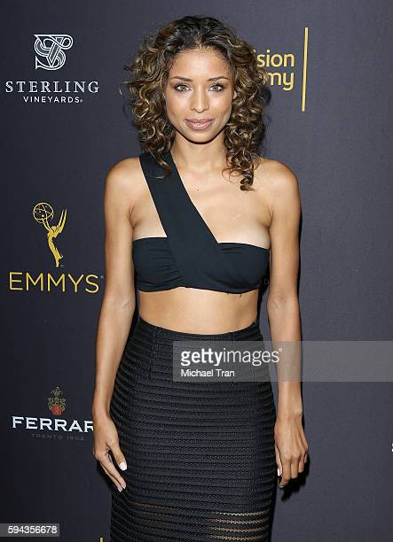 Brytni Sarpy attends the Television Academy's Performers Peer Group celebration held at Montage Beverly Hills on August 22 2016 in Beverly Hills...