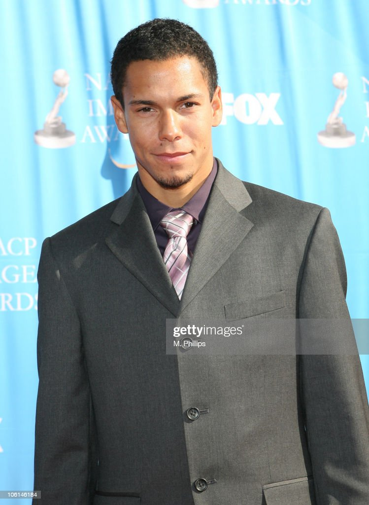 <a gi-track='captionPersonalityLinkClicked' href=/galleries/search?phrase=Bryton+McClure&family=editorial&specificpeople=653964 ng-click='$event.stopPropagation()'>Bryton McClure</a> during 38th Annual NAACP Image Awards - Arrivals at Shrine Auditorium in Los Angeles, California, United States.
