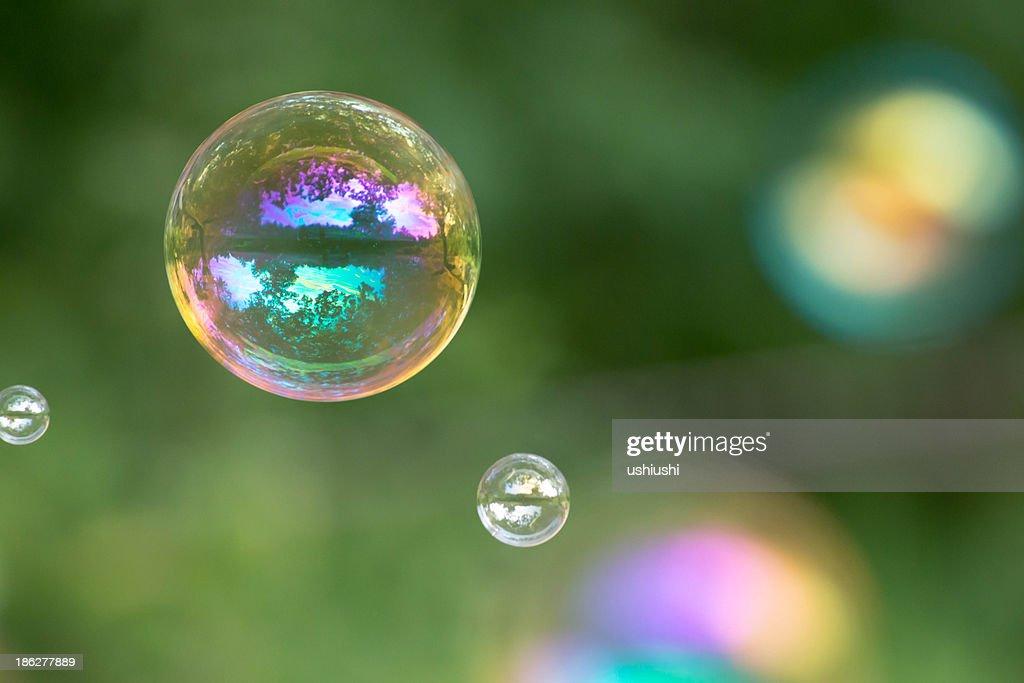 Bubble at park