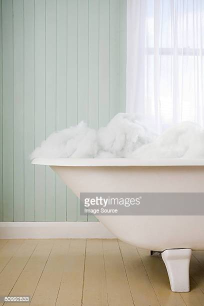 A bubble bath