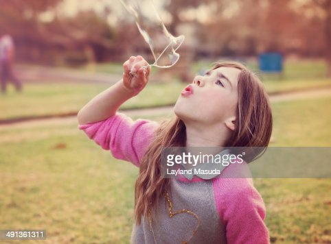 Bubble Blower Supreme - Little Girl