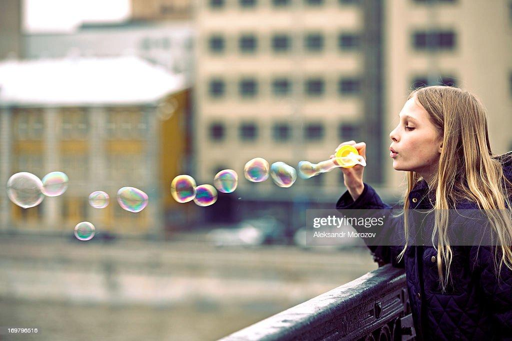 Bubble on the bridge