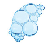 Bubbles with Clipping Path