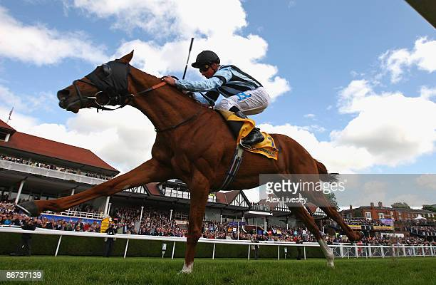 Buccellati ridden by William Buick wins the betchroniclecom Ormonde Stakes at Chester Racecourse on May 8 2009 in Chester England