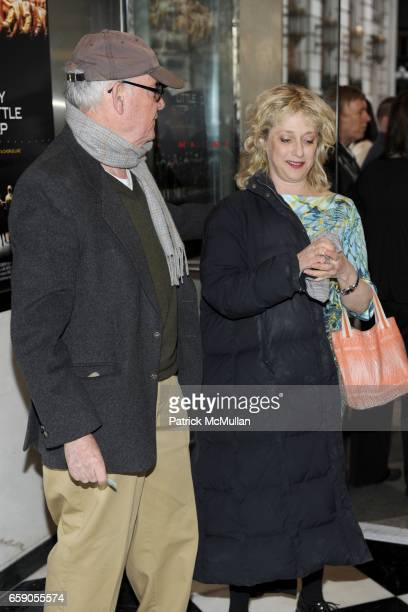 Buck Henry and Carol Kane attend New York Screening of EVERY LITTLE STEP at Paris Theater on April 13 2009 in New York City