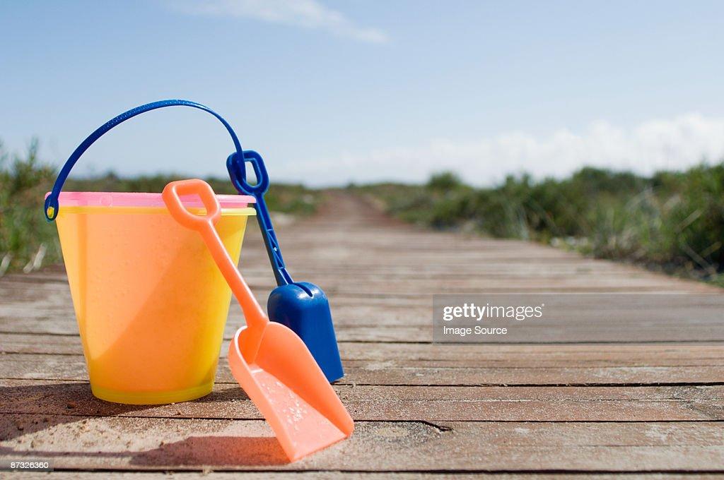 Bucket and spades