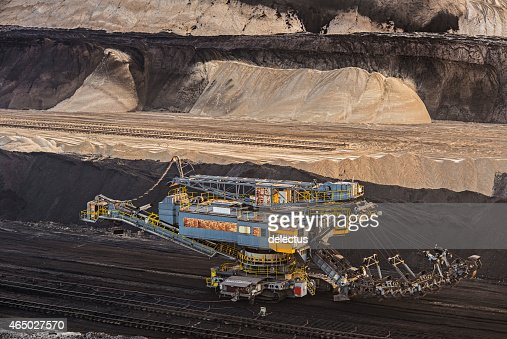 Bucket chain excavators - Lignite mining
