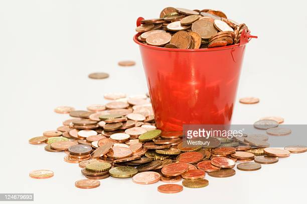Secchio di monete