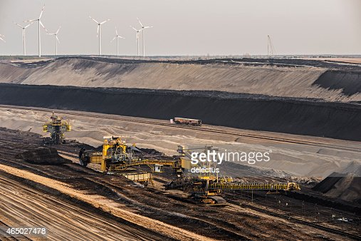 Bucket wheel excavators - Lignite mining