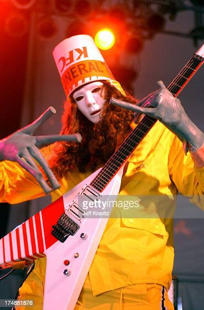 Buckethead during Bonnaroo Music Festival in Manchester Tennessee United States