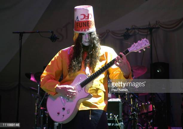 Buckethead during Buckethead in Concert December 30 2004 at Riviera Theater in Chicago Illinois United States