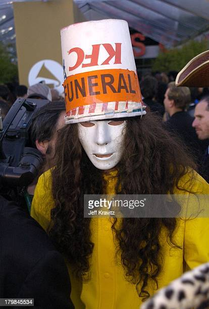 Buckethead during The 46th Annual Grammy Awards Arrivals at Staples Center in Los Angeles California United States