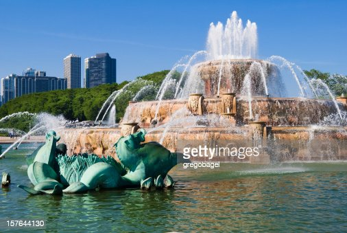 Buckingham Fountain at Grant Park in Chicago, IL