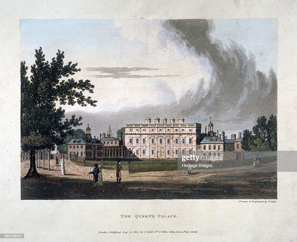 Buckingham House Westminster London 1803 Buckingham House Was