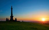 Buckinghamshire Landscape At Sunset
