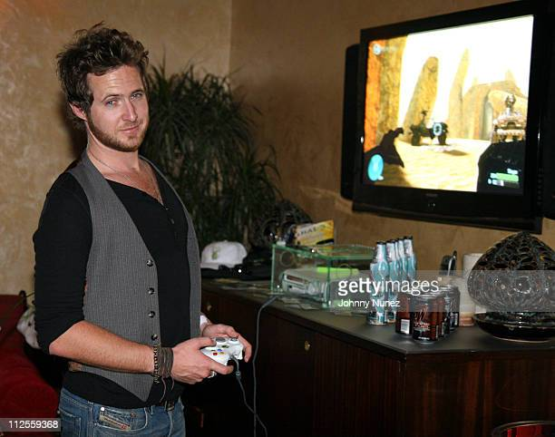 AJ Buckley attends Game Fuel and Halo TAO Beach Party with Linkin Park and DJ Irie on September 7 2007 in Las Vegas Nevada