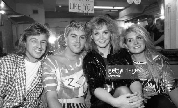 Bucks Fizz at the Night Out Birmingham 22nd May 1985
