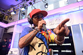 Black Moon Performs On SiriusXM's Shade 45 Channel At...