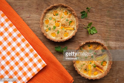 Buckwheat Carrot Tarts, Lactose-free and gluten-free