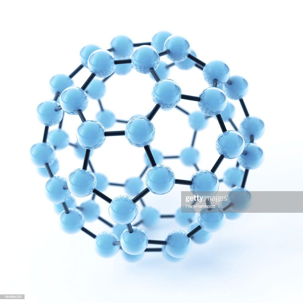 Buckyball Fullerene Molecule