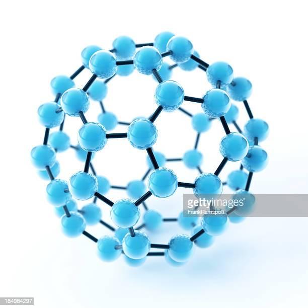 Molecola di Fullerene Buckyball