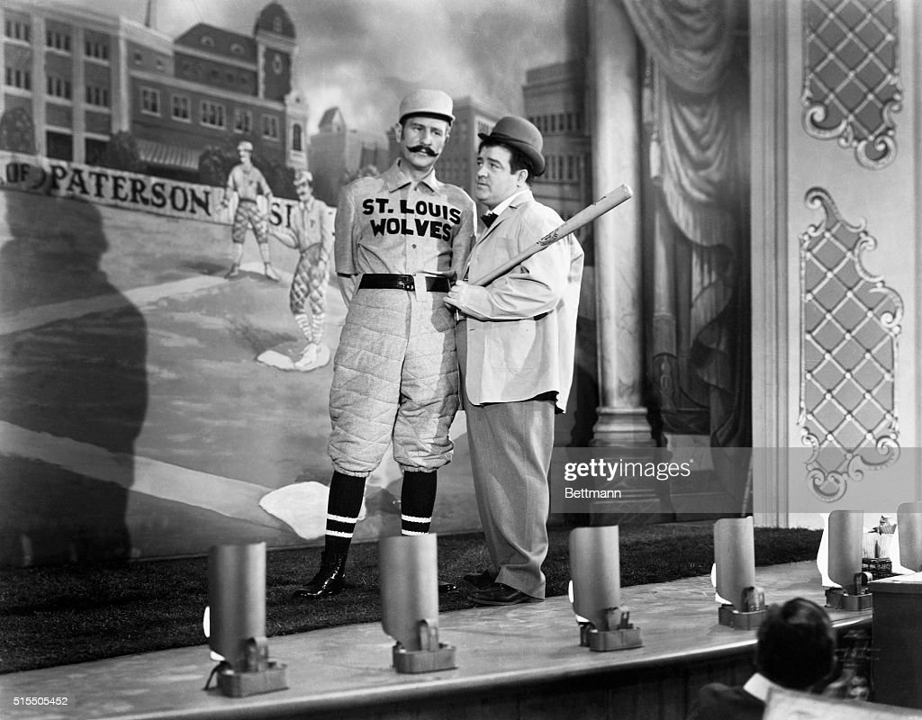 Image result for abbott and costello naughty nineties  getty images