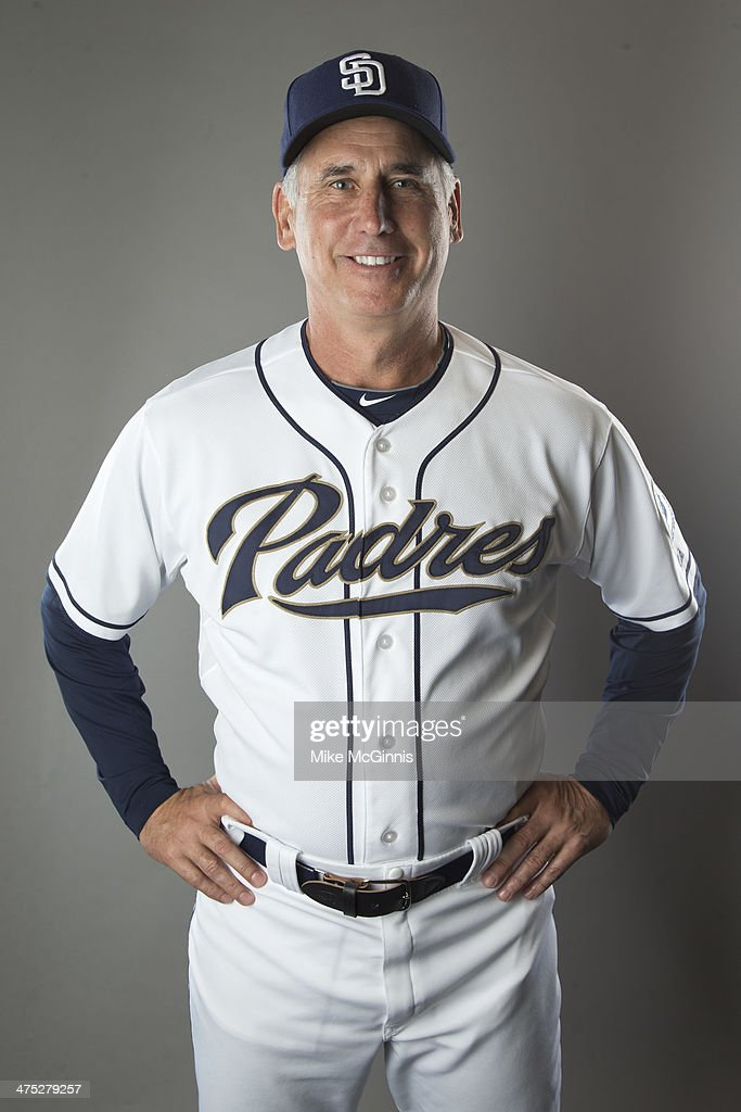 Bud Black of the San Diego Padres poses during Picture Day on February 21 2014 at the Peoria Sports Complex in Peoria Arizona