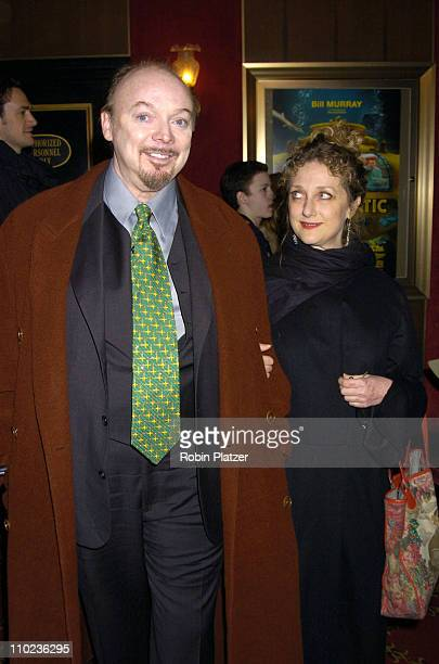 Bud Cort and Carol Kane during 'The Life Aquatic with Steve Zissou' New York City Premiere Inside Arrivals at Ziegfield Theater in New York City New...