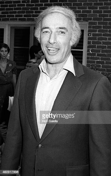 Bud Yorkin attends California Bilateral Nuclear Weapons Freeze Initiative on January 10 1982 at Bud Yorkin's home in Beverly Hills California