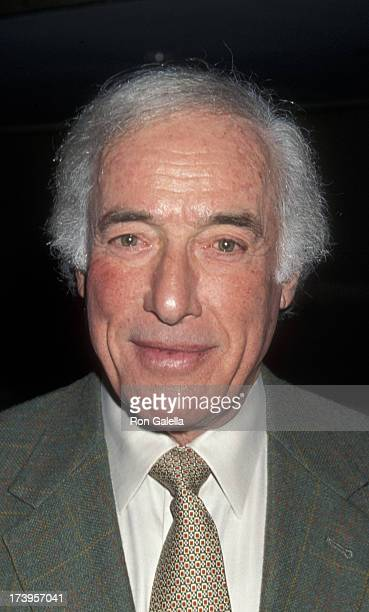 Bud Yorkin attends Sixth Annual Women in Film Lucy Awards on September 17 1999 at the Beverly Hilton Hotel in Beverly Hills California