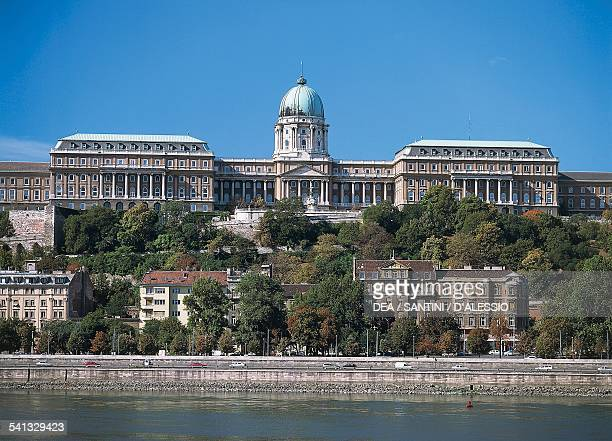 Buda castle Budapest Hungary 14th18th century